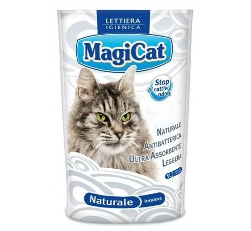 MagiCat Lettiera igienica Naturale inodore da 5 Lt