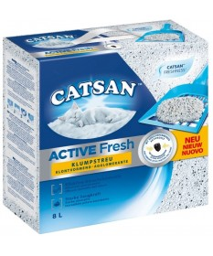 Catsan Active Fresh New Agglomerante da 8 Lt