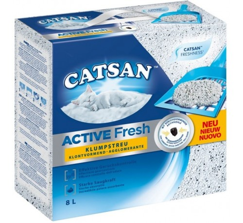 Catsan Active Fresh New Agglomerante da 8Lt
