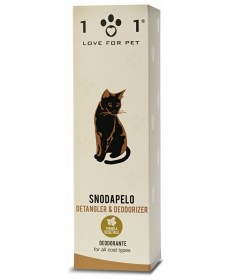 101 Love for Pet Snodapelo Deodorante per tutti i tipi di pelo da 250 ml