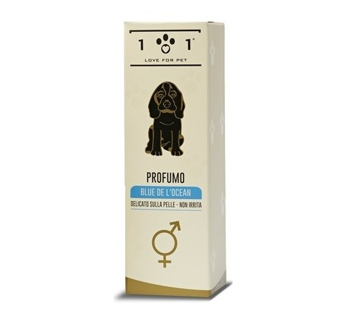 101 Love for Pet Profumo Blue de l'Ocean da 100 ml