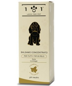 101 Love for Pet Balsamo Concentrato per tutti i tipi di pelo da 250 ml