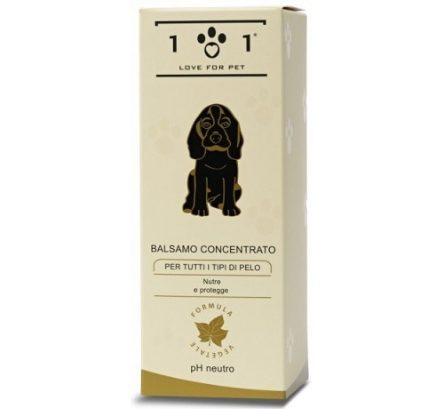 101 Love for Pet Balsamo Concentrato per tutti i tipi di pelo da 250 ml