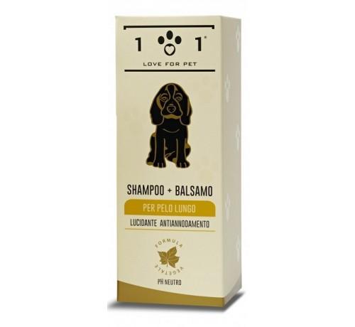 101 Love for Pet Shampoo + Balsamo per pelo lungo