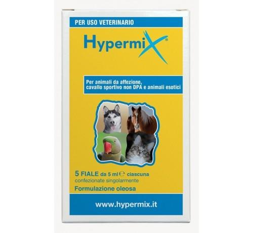 HypermixOlio Multifunzionale per Cani e Gatti 5 Fiale da 5 ml
