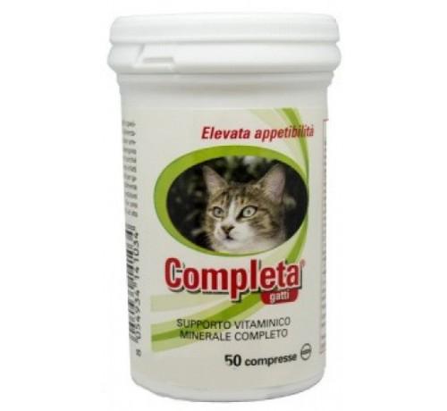 Trebifarma Completa Alimento Complementare per Gatti da 50 compresse