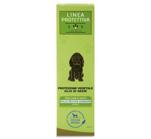 Linea Protettiva 101 Love for Pet Protezione Vegetale Olio di Neem Spray per Cani e Gatti da 250 ml