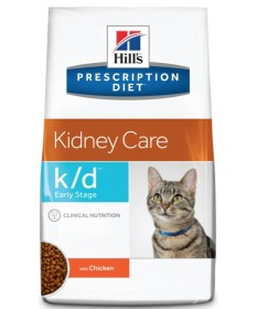 Hill's Prescription Diet k/d Early Stage per Gatto con Pollo da 400g