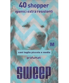 Sweep Sacchetti igienici extra resistenti M da 40 pz