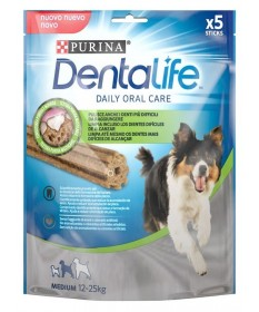 Purina Dentalife per Cane Medium 12-25 kg 5 Sticks con Pollo da 115g
