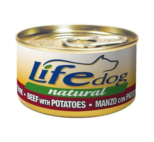 LifeDog Natural Cane Umido Lattina da 90 gr