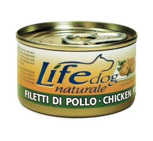 LifeDog Natural Cane Umido Lattina da 90gr