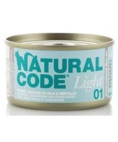 NaturalCode Light per Gatto da 85g