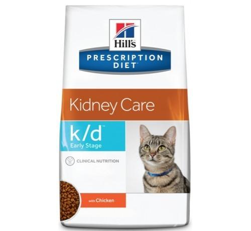 Hill's Prescription Diet k/d Feline Early Stage per Gatto con Pollo da 1.4 kg