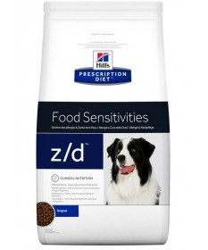 HILL'S PRESCRIPTION DIET z/d Food Sensitivities per Cane da 10 Kg