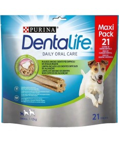 PURINA Dentalife per Cani Small Maxi Pack 21 Sticks da 345g