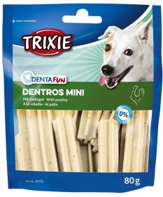 Trixie Denta Fun Dentros per Cani Mini con Pollo da 80 g