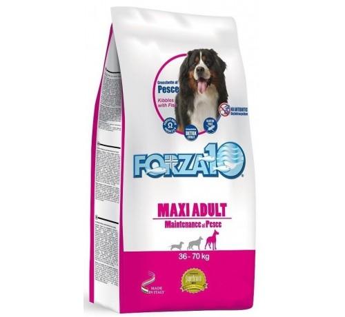 Forza10 Maintenance per Cane Adult Maxi con Pesce da 12,5 Kg