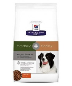Hill's Prescription Diet Metabolic + Mobility per Cane con Pollo da 12 Kg