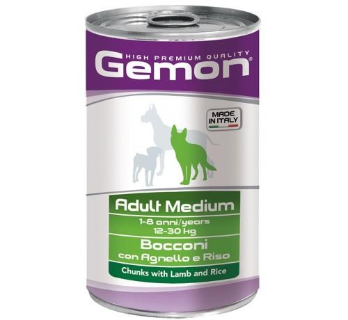 Gemon Adult Medium Cane Umido Bocconi da 1,25 Kg