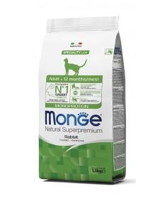Monge Monoproteico Gatto Adult Coniglio 1,5 Kg