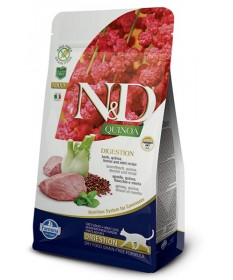 Farmina N&D Digestion Grain Free Gatto Quinoa Lamb 300 Gr