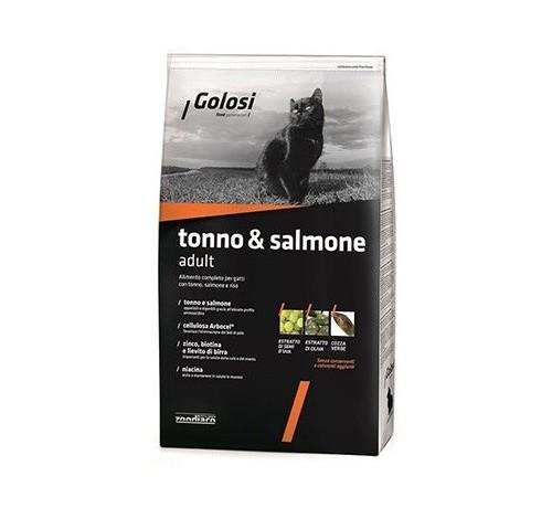 Golosi per Gatto con Tonno e Salmone da 7,5 Kg