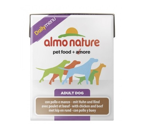 Almo Nature Daily Menu Cane Tetrapak 375 gr