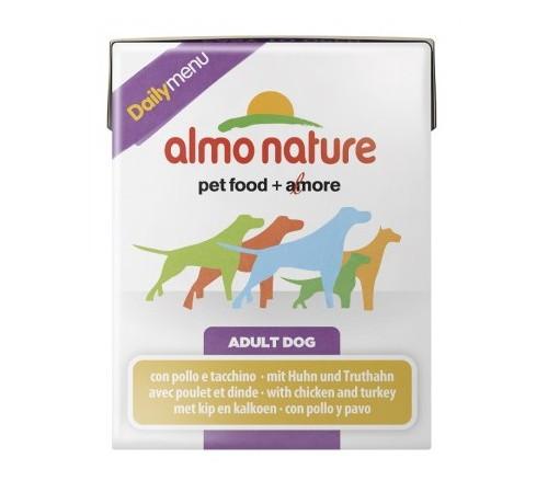 Almo Nature Daily Menu Cane Tetrapak 375 gr