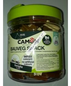 Camon Bauveg Snack Vegetali per Cane con Vaniglia da 300g