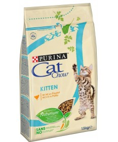 Purina Cat Chow per Gatto Kitten con Pollo da 1,5 Kg