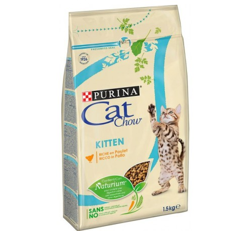 Purina Cat Chow Kitten con Pollo 1,5kg