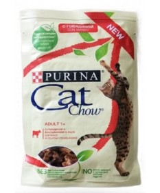 CAT CHOW ADULT 1+ 85 GR