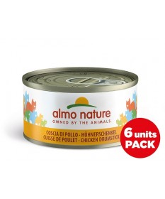 BAULETTO ALMO NATURE PER GATTO da 6X70g