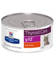 Hill's Prescription Diet y/d Gatto umido da 156 gr