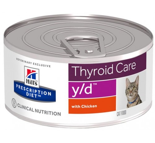 Hill's Prescription Diet y/d Gatto umido da 156 gr