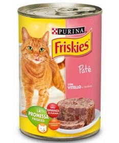 Friskies Vitality per Gatto con Vitello e Verdure in Patè da 400gr