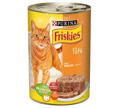 Friskies Vitality - Patè con Pollo e Verdure 400gr