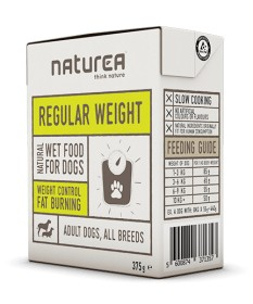 Naturea Regular Weight per Cane Adult All Breeds da 375g