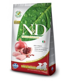Farmina N&D per Cane Puppy Mini Mediumcon Pollo e Melograno da 800 gr