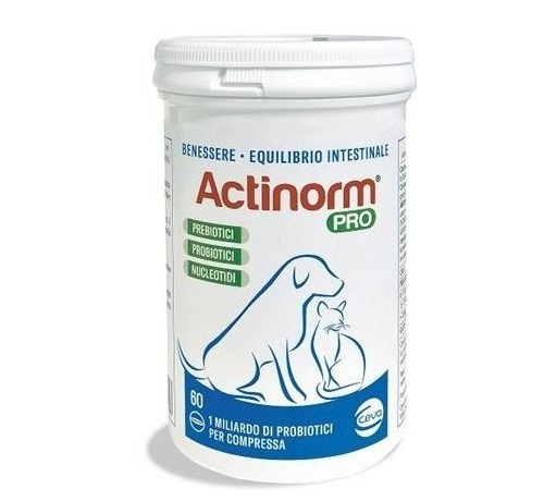 Ceva salute animale Actinorm Plus cani e gatti 90 compresse