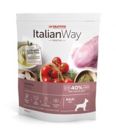 Italian Way per Cane Adult Mini Sensitive con Anatra da 1,5 Kg