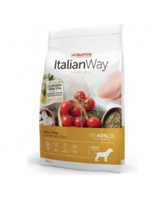 Italian Way per Cane Adult Medium con Pollo e Riso da 3 kg