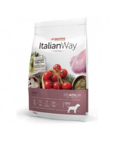 Italian Way per Cane Adult Medium Sensitive con Anatra da 3 kg