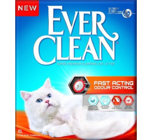 Ever Clean Fast Acting Odour Control da 6 lt