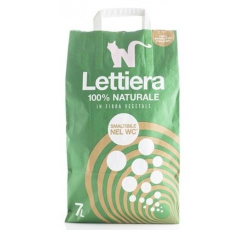 Natural Code Lettiera in Fibra Vegetale da 7Lt