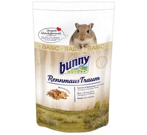 Bunny Sogno per Gerbilli Basic da 400 gr