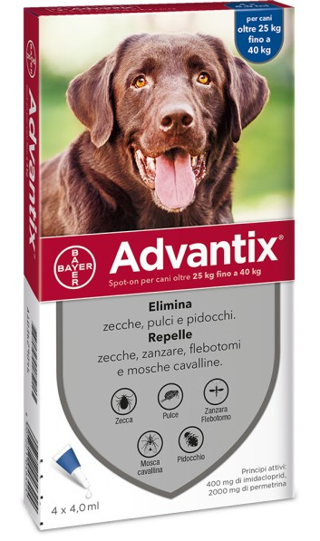 Advantix Spot On per cani oltre 25 kg
