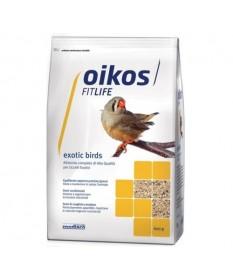 Oikos Exotic Birds per Uccelli Esotici da 600 gr
