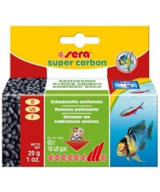 Sera Super Carbon Mini per acquario da 29 gr